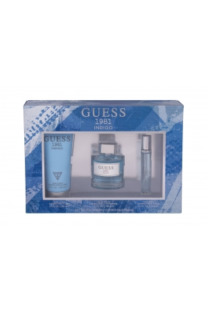 Guess Guess 1981 Indigo Eau De Toilette 100ml - Set For Women