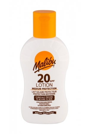 Malibu Lotion Spf20 Sun Body Lotion 100ml Waterproof
