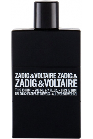 Zadig & Voltaire This is Him! Shower Gel 200ml