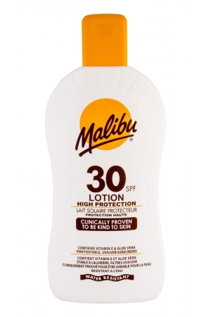 Malibu Lotion Spf30 Sun Body Lotion 400ml Waterproof