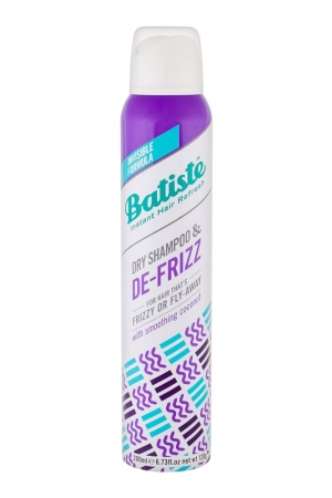 Batiste De-frizz Dry Shampoo 200ml (Curly Hair - Unruly Hair)