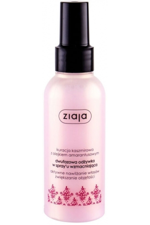 Ziaja Cashmere Duo-Phase Conditioning Spray Conditioner 125ml (All Hair Types)
