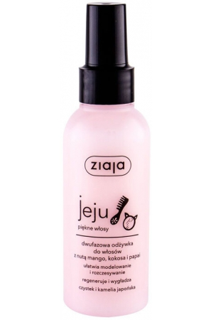 Ziaja Jeju Duo-Phase Conditioning Spray Conditioner 125ml (All Hair Types)