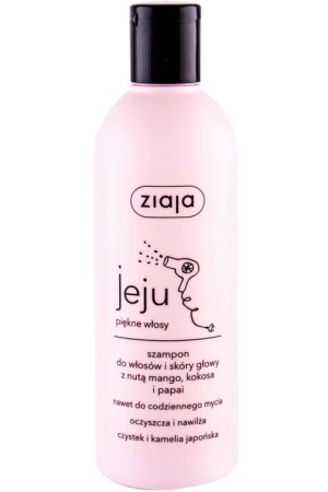 Ziaja Jeju Shampoo 300ml (All Hair Types)
