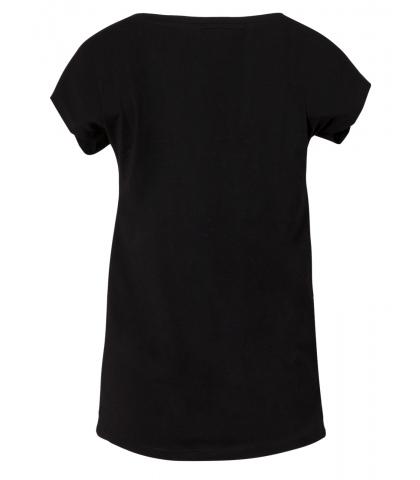 Μπλούζα Κοντομάνικη με Πέρλες και Strass