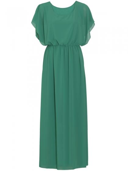 Μάξι Φόρεμα με Αφαιρούμενο Κολιέ