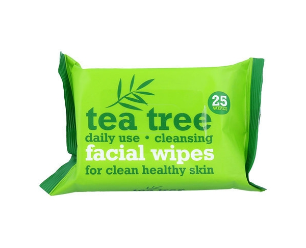 Tea Tree Cleansing Facial Wipes 25 Pieces Of Wipes