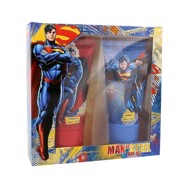 Dc Comics Superman Shower Gel 150ml - Set Shower Gel 150ml & Shampoo 150ml