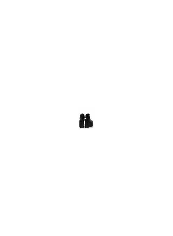 Μποτάκι Πλατφόρμα-Μαύρο