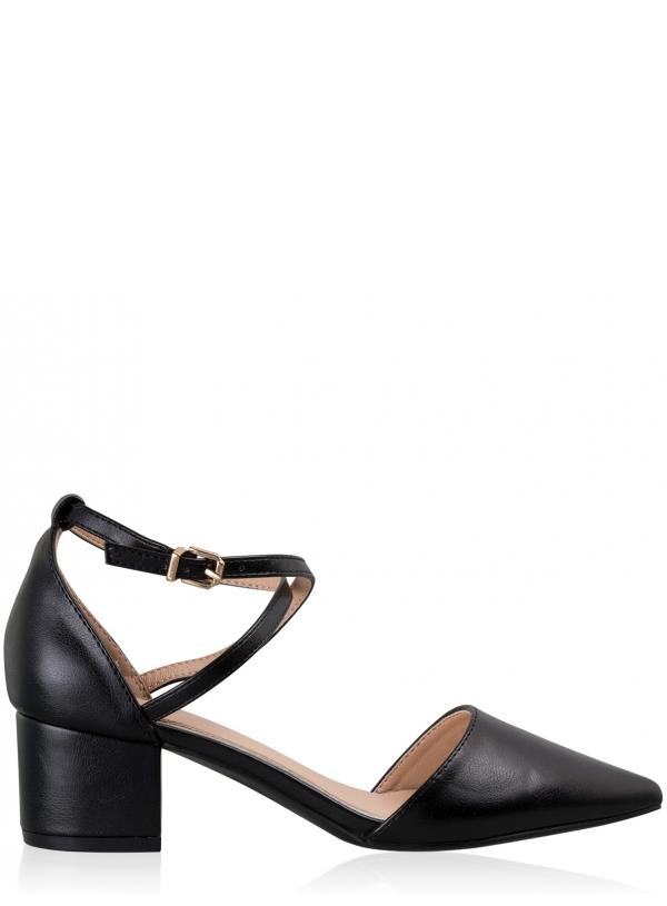 Medium Heel Court Shoes